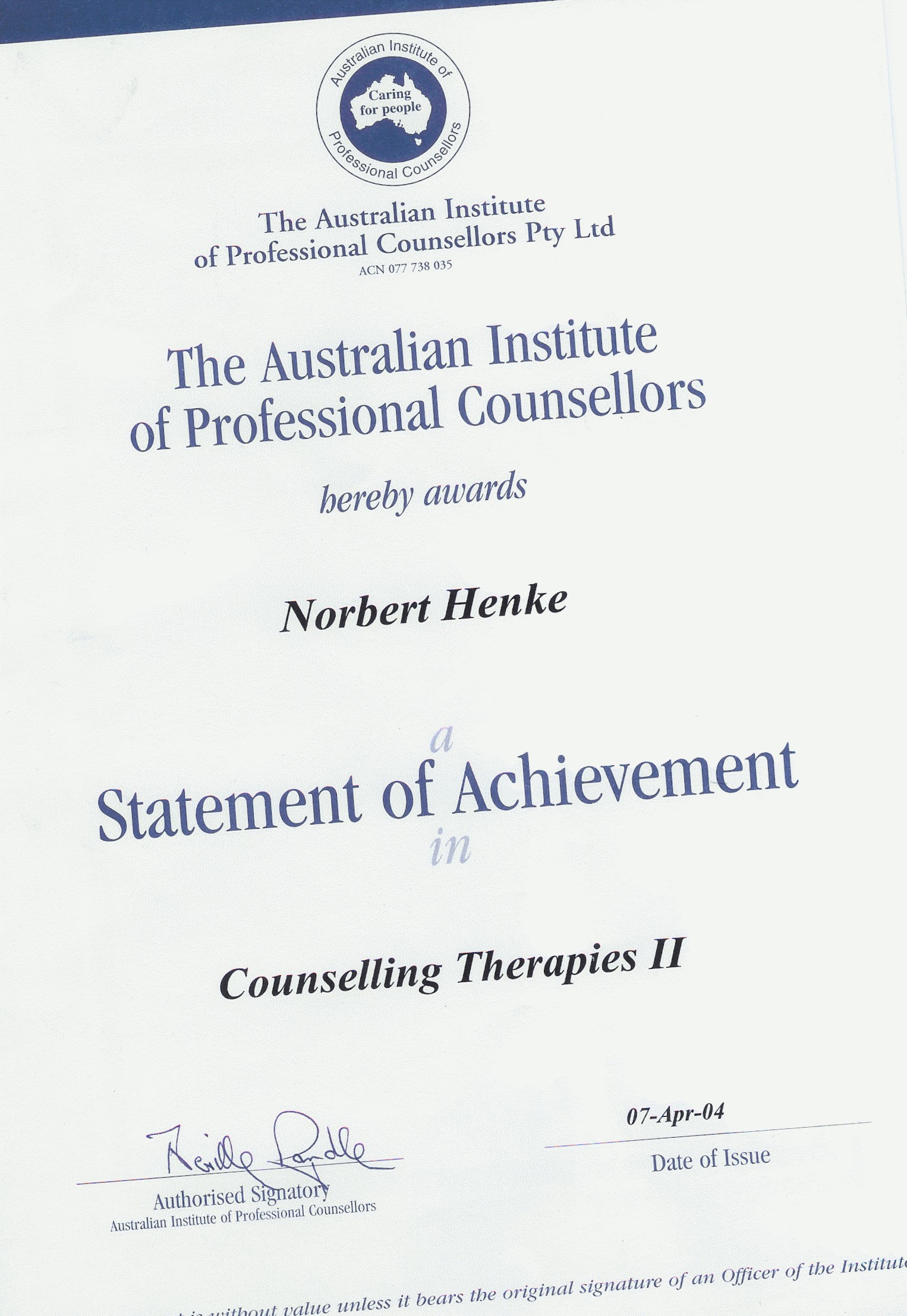 Counselling therapies 2