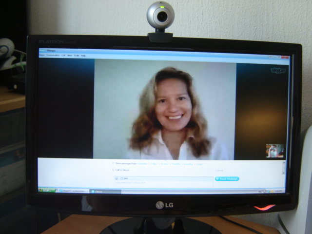 Olesya -russian woman on skype
