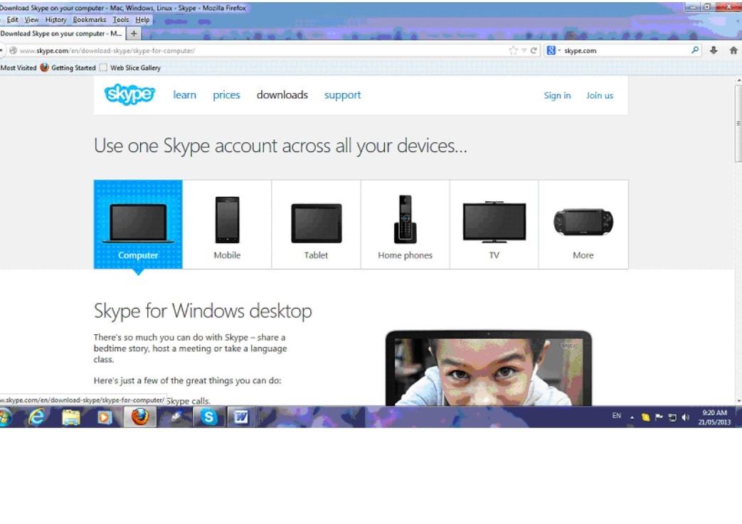 Skype b