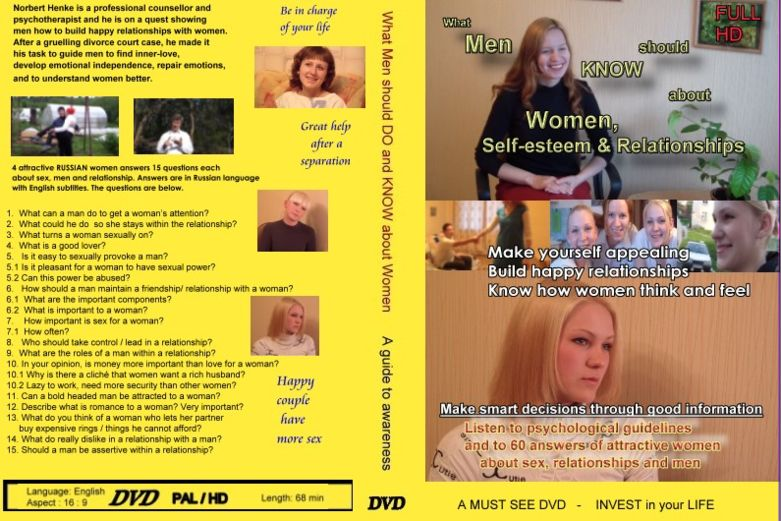 What men should know about women- DVD