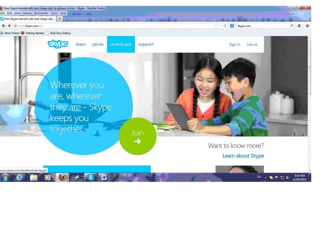 Skype a