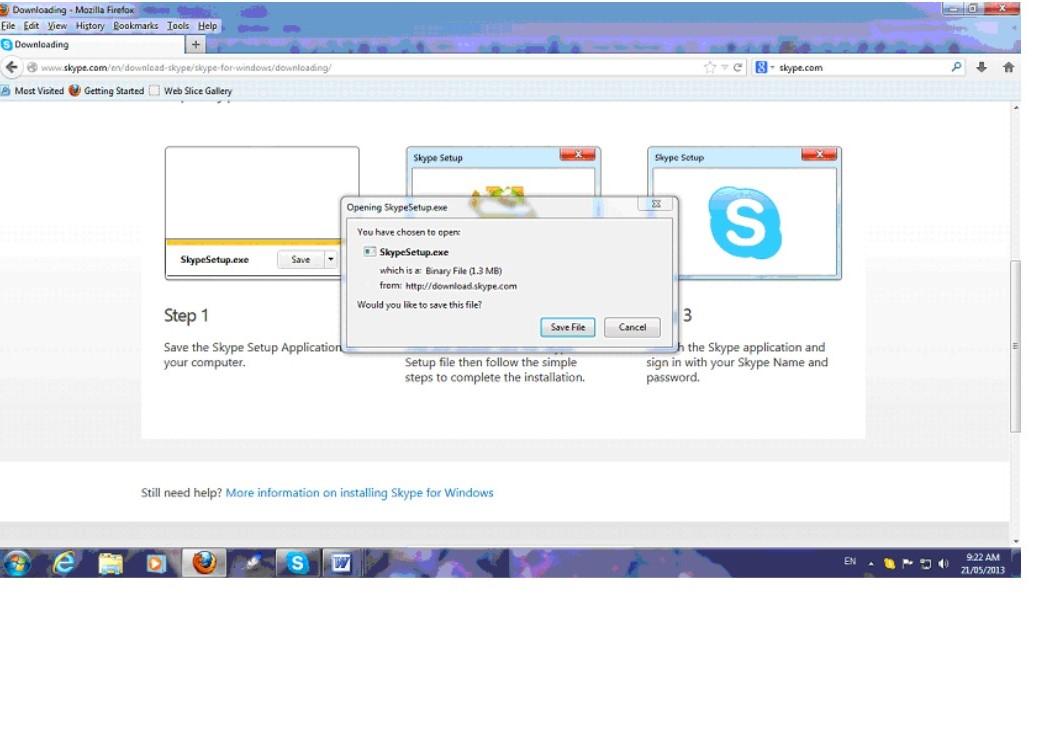 Skype d